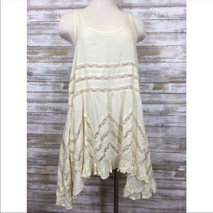 NWT Free People Voile & Lace Trapeze Tank